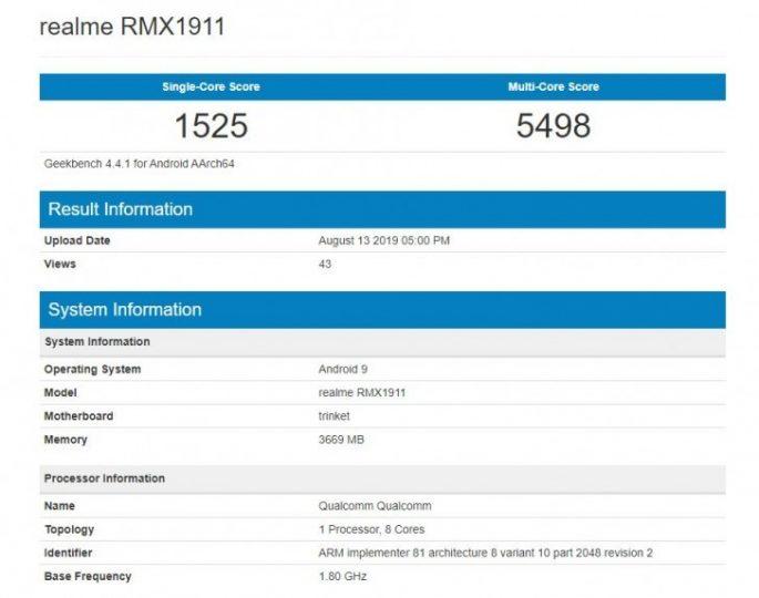 Realme 5 ve 5 Pro, işlemcinin ve dörtlü arka kameranın ayrıntılarını görmenizi sağlar