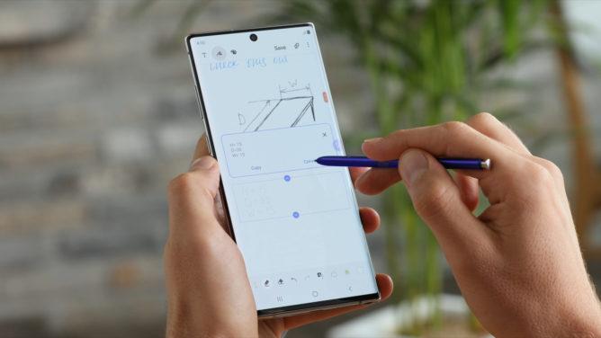 S Pen'deki yenilikler Galaxy Not 10 ve 10+ 2