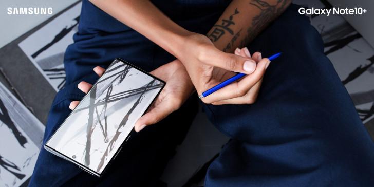 S Pen'deki yenilikler Galaxy Not 10 ve 10+ 1