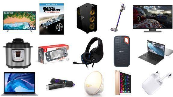 Samsung 75 inç Akıllı TV, Dell XPS 13, Roku Streaming Stick ve ... 1