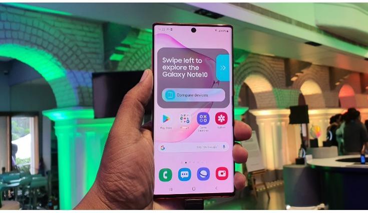 Samsung Galaxy Note 10, Galaxy Note 10+ Hindistan'daki ilk güncellemesini aldı 1