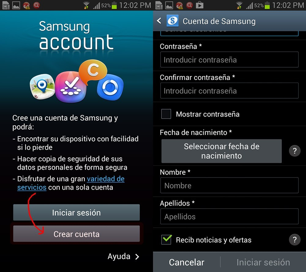 Samsung Hesabını silmek zor değil 1