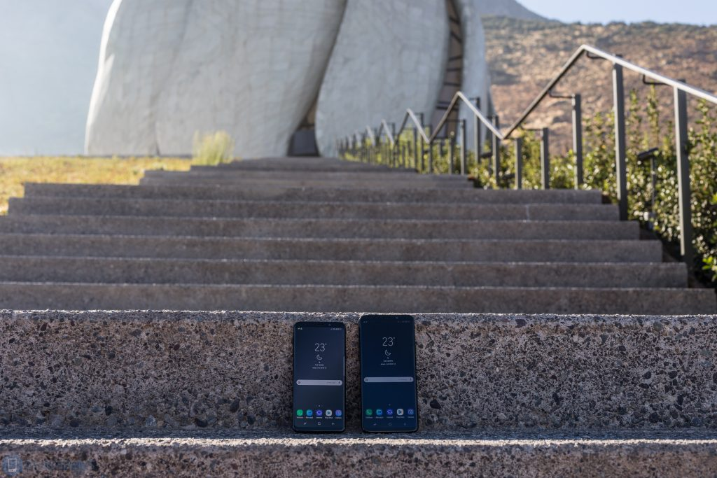 Samsung İnceleme Galaxy S9 ve Galaxy S9 + 1
