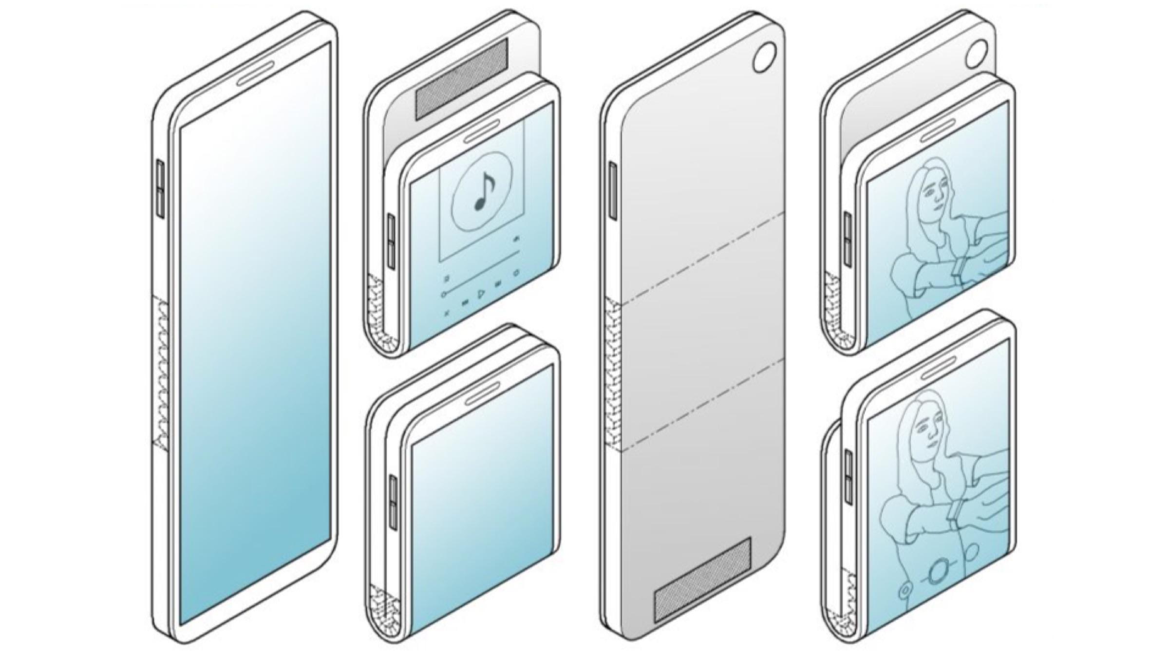 Samsung Olabilecek Bir Akıllı Telefonda Çalışıyor Fold Her iki yol da 1