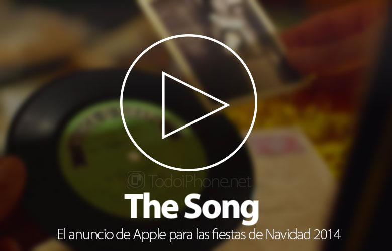 Şarkı, duyuru Apple bu Noel 2014 için 1