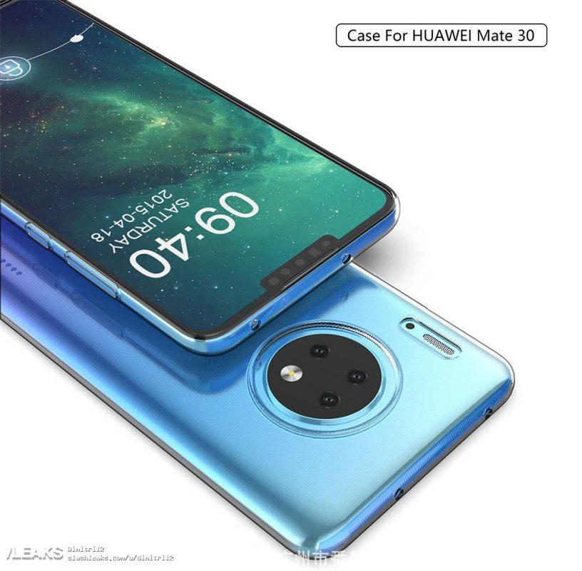 Şimdiye kadarki en iyi görüntülerde Huawei Mate 30 ve Mate 30 Pro: yuvarlak kameralar ve gizemli düğme 1