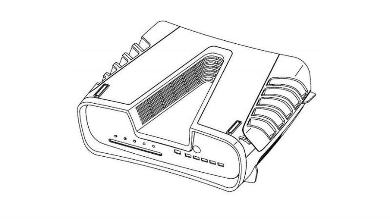 Sony, yeni patenti ile PS5'in tasarımını açıklardı. 1