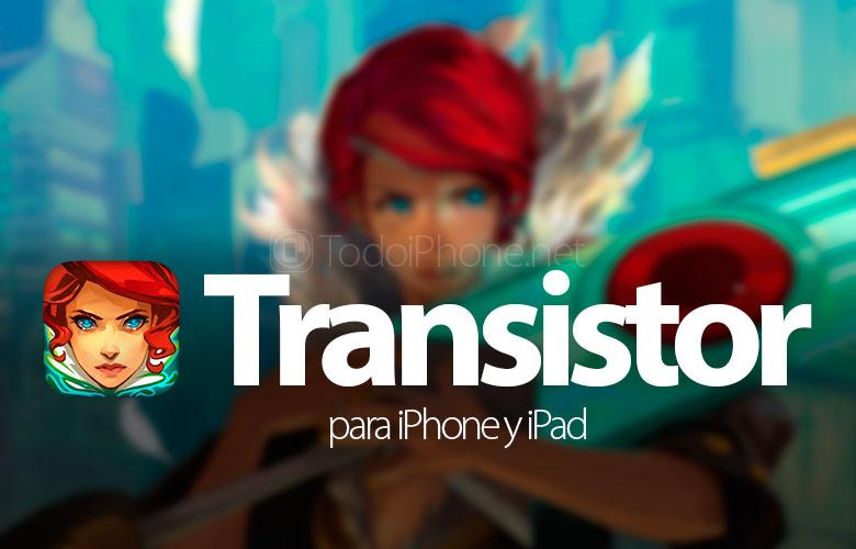 Transistör, iPhone ve iPad için bir bilim kurgu oyunu 1