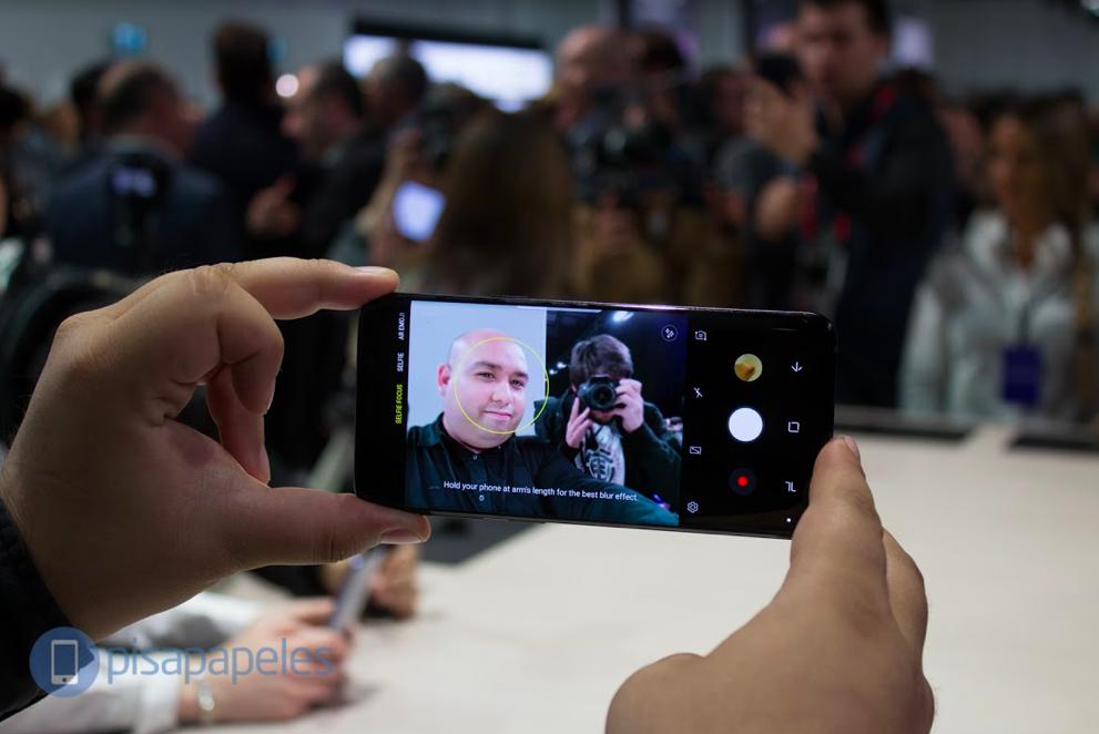 [Video] Yeni Samsung'un ilk izlenimleri Galaxy S9 ve S9 + # MWC18 1