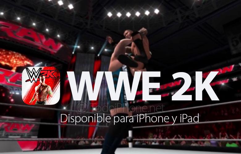 WWE 2K, iPhone ve iPad için App Store'da nihayet kullanıma sunuldu 1