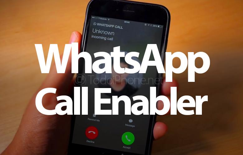 WhatsApp'ın iPhone'da Jailbreak ile çağrılması nasıl etkinleştirilir 1