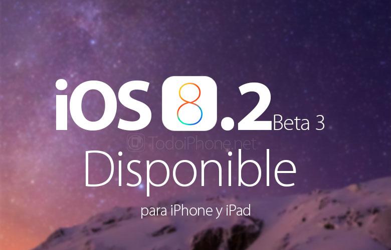 iOS 8.2 Beta 3 geliştiricilere ulaşır, yeniliklerin neler olduğunu keşfedin 1