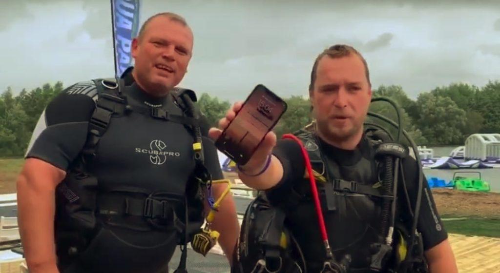 iPhone X Lakebed'de İki Gün Harcadıktan Sonra Çok İyi Çalışıyor 1