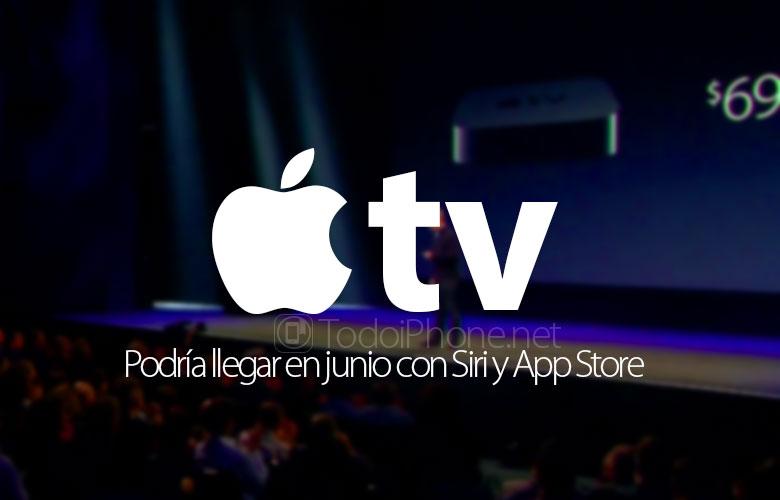 yeni Apple TV haziran ayında Siri ve App Store ile gelebilirdi 1