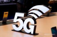 Samsung Galaxy S10 5G 5G logosu