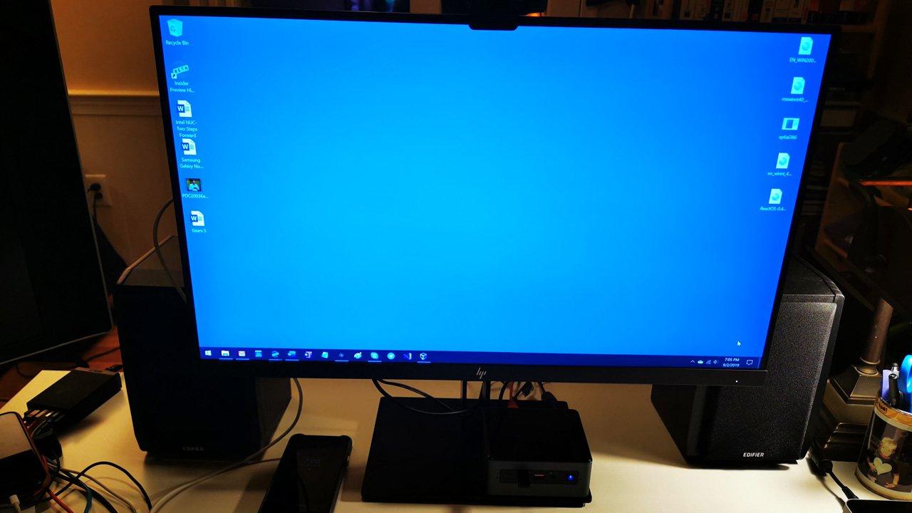 Intel NUC: Biraz İleri Momentum 3
