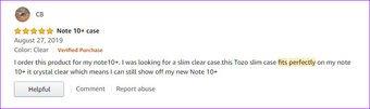 En iyi Samsung Galaxy Note  10 Kılıf Tozo Temizle Sert Arka Panel