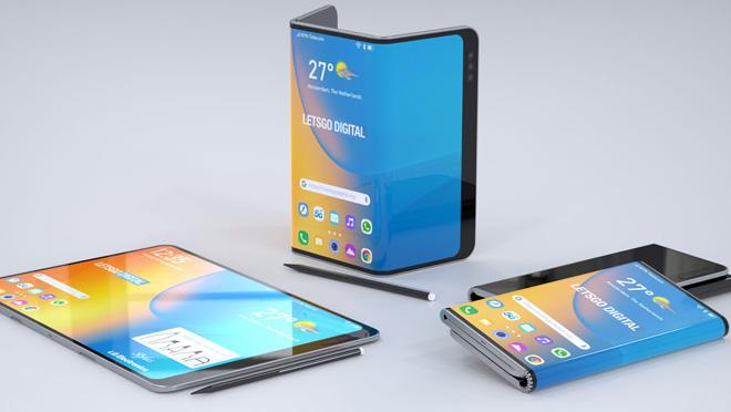 LG, çift katlamalı akıllı telefonunu stylus kalemle IFA 2019'da açıklayabilir 3