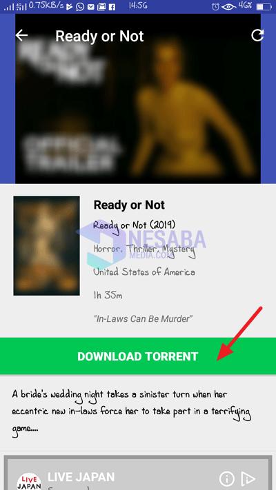 torrenti indir'i tıklayın