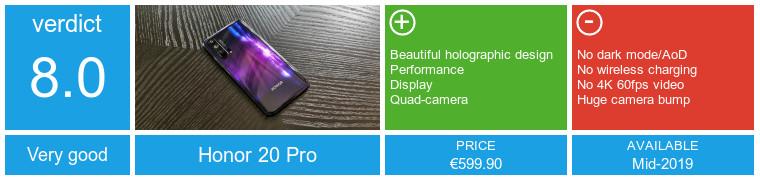 Onur 20 Pro incelemesi: Başka bir çarpıcı tasarım, başka bir Kirin 980 cihazı 15