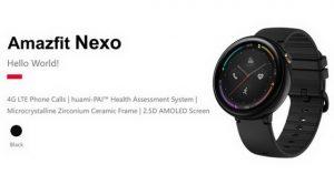 Huami Amazfit Nexo: Yeni nesil smartwatch 2