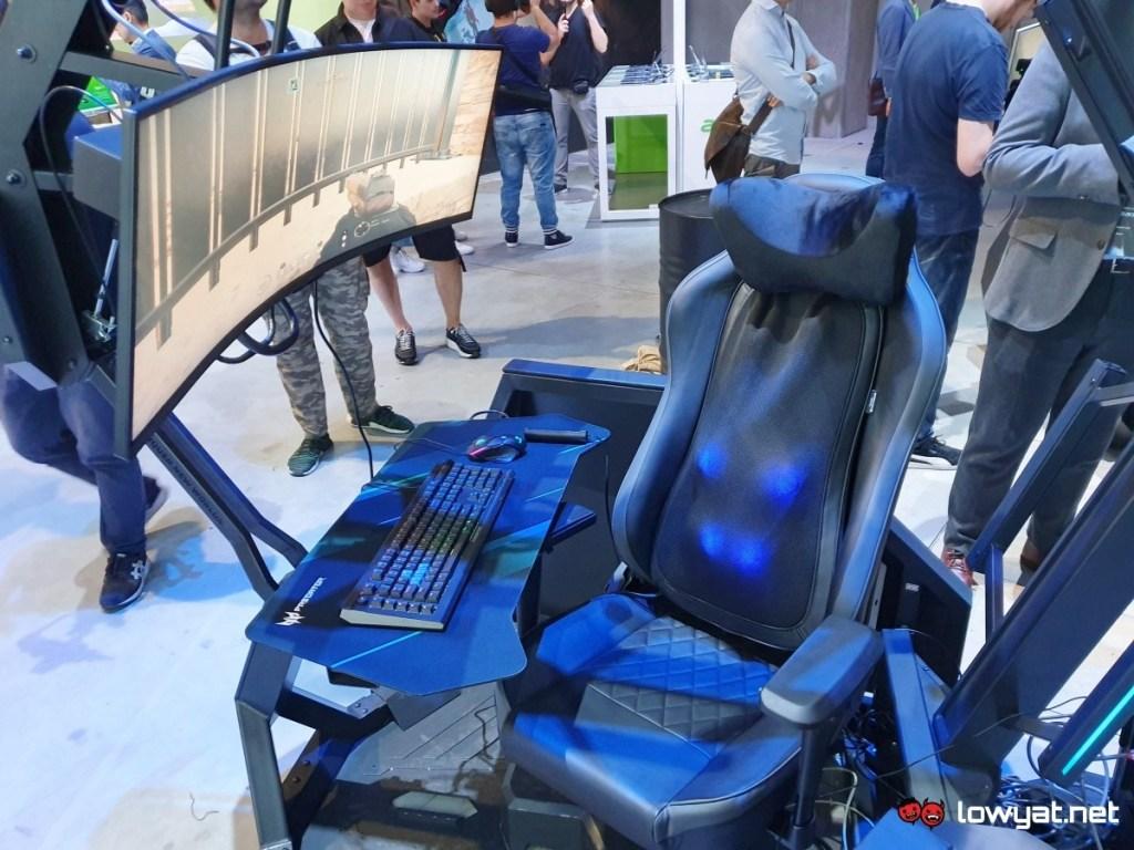 Acer Predator Thronos Air Gaming Masaj Koltuğu İle Yine Gıcırdıyor 3