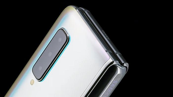 Samsung arka kameralar Galaxy Fold