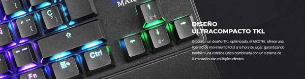 Yeni Mars Oyun MKXTKL klavye 2