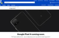 Google Pixel 4 Best Buy Özet Sayfası