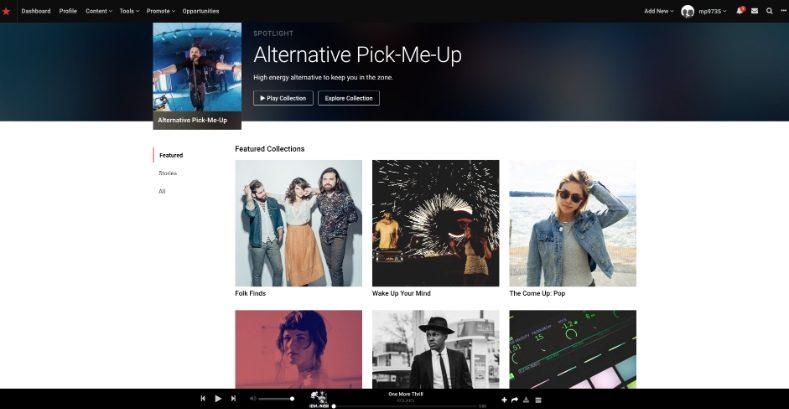 Şarkıları yasal olarak indirmek için 2019 yılında 13 en iyi ücretsiz müzik siteleri 3