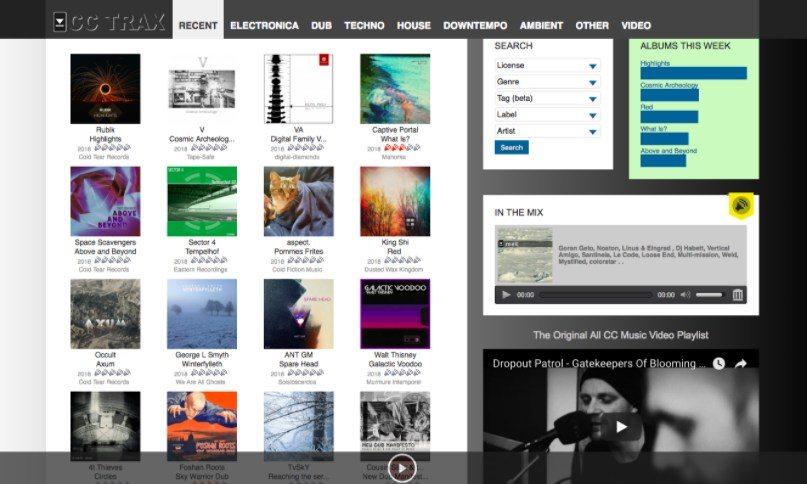 Şarkıları yasal olarak indirmek için 2019 yılında 13 en iyi ücretsiz müzik siteleri 9