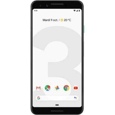 Google 99928198 - Piksel 3 Akıllı Telefon, 13.86 cm (5.46 inç), 2.5 GHz, 64 GB, 12.2 MP, renk: Şeffaf beyaz