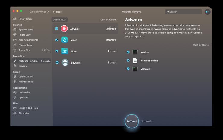 FlashMall virüsünü sil MacBook