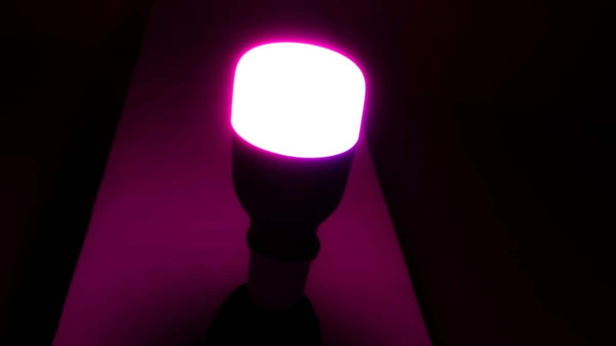 Mi akıllı LED ampul mor Mi LED Akıllı Ampul