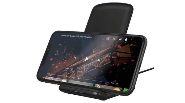 Primo 10 kablosuz şarj cihazına güvenin, videoları izlerken cep telefonunuzu şarj edin 2