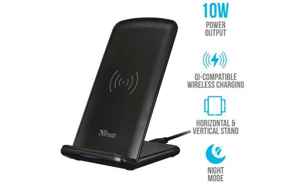 Primo 10 kablosuz şarj cihazına güvenin, videoları izlerken cep telefonunuzu şarj edin 3