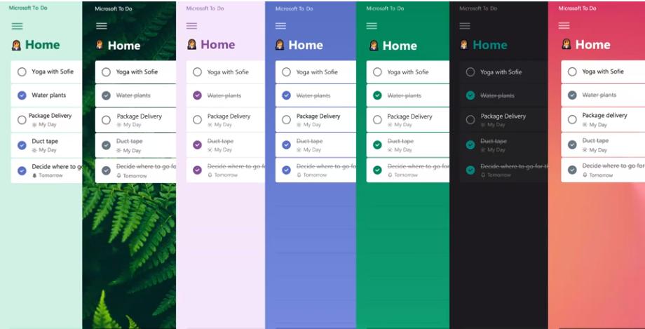 Microsoft Yapılacaklar uygulama güncellemesi yeni tasarım, Microsoft uygulamaları ve hizmetleriyle entegrasyon ve daha fazlasını sağlar 2