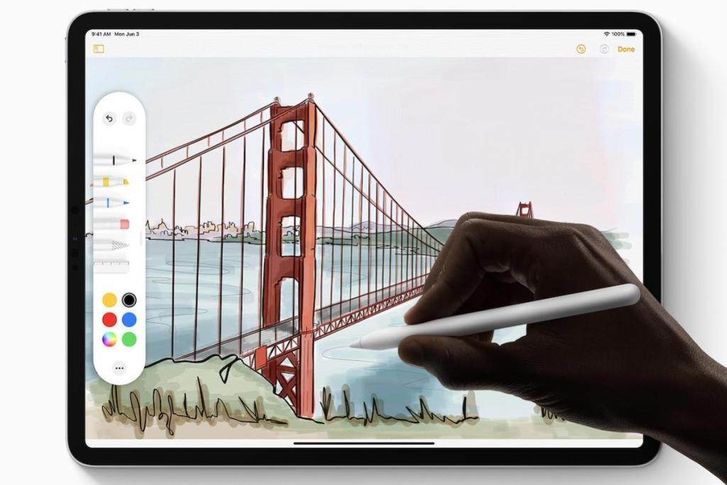 İPadOS ile Apple Kalem iPad ile daha entegre