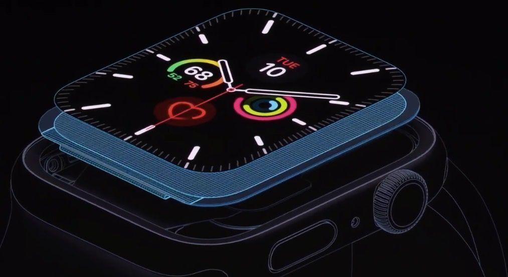 Apple Watch 5, her zaman açık olan yeni ekranlarla bile pili 18 saate kadar tutar