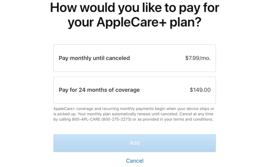 İPhone 11 ailesinin duyurmasından sonra AppleCare + için önemli değişiklikler yapıldı