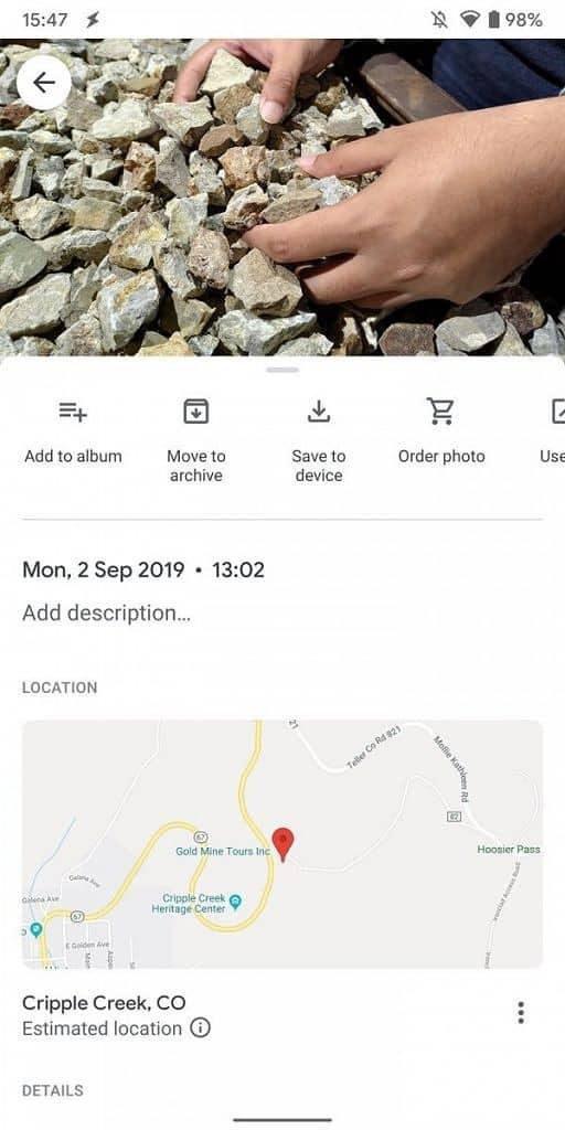 Yeni Google Foto fotoğraflardaki değişikliklerle geldi! 2