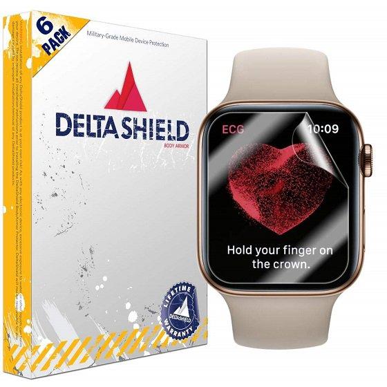 9. DeltaShield Ekran Koruyucu - Apple Watch Seri 5 Ekran Koruyucuları