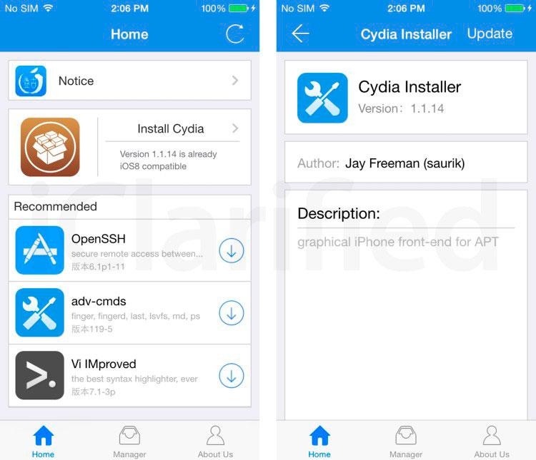 Cydia artık iPhone'dan Jailbreak ile yüklemek mümkün 2