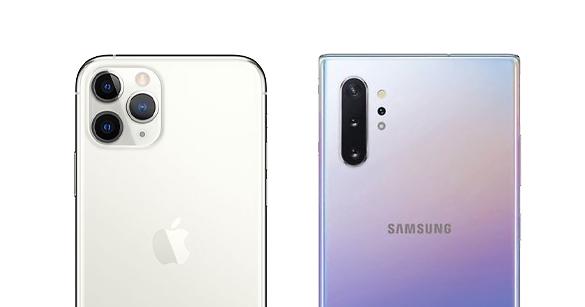samsung galaxy-not-10-vs iPhone 11 yanlısı max kameralar