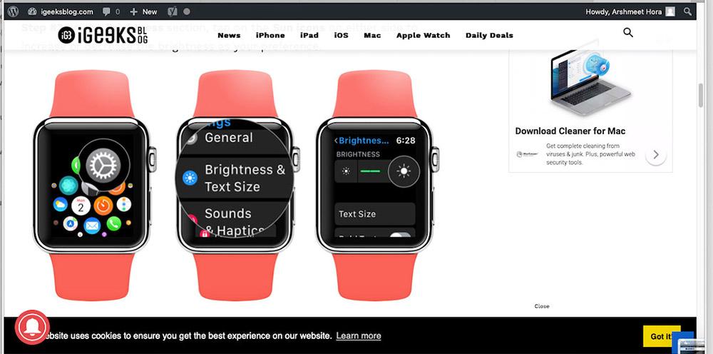 Mac Finder'da Hızlı Bakış'ta Görüntü Dosyası Önizlemesi