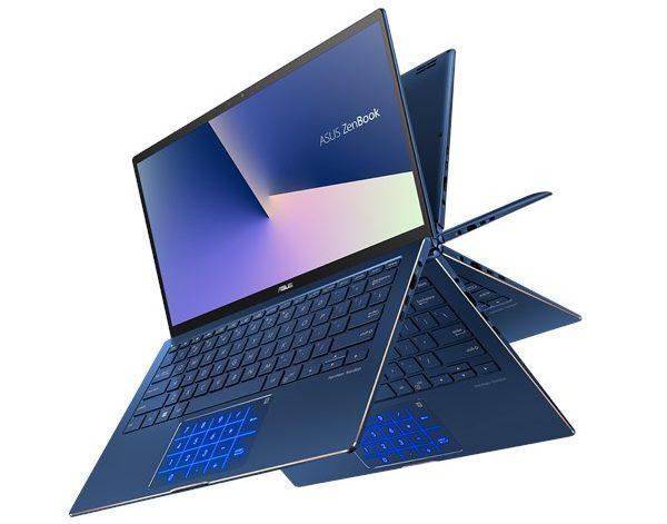 Asus ZenBook 14, 15 ultrabook ve ZenBook Flip 13 üstü açılabilir Hindistan'da piyasaya sürüldü 4