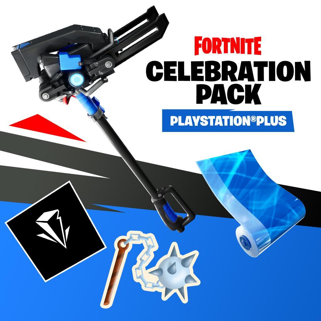 İlk bakış Fortnite PS Plus Kutlama Paketi kozmetik oyun içi 3