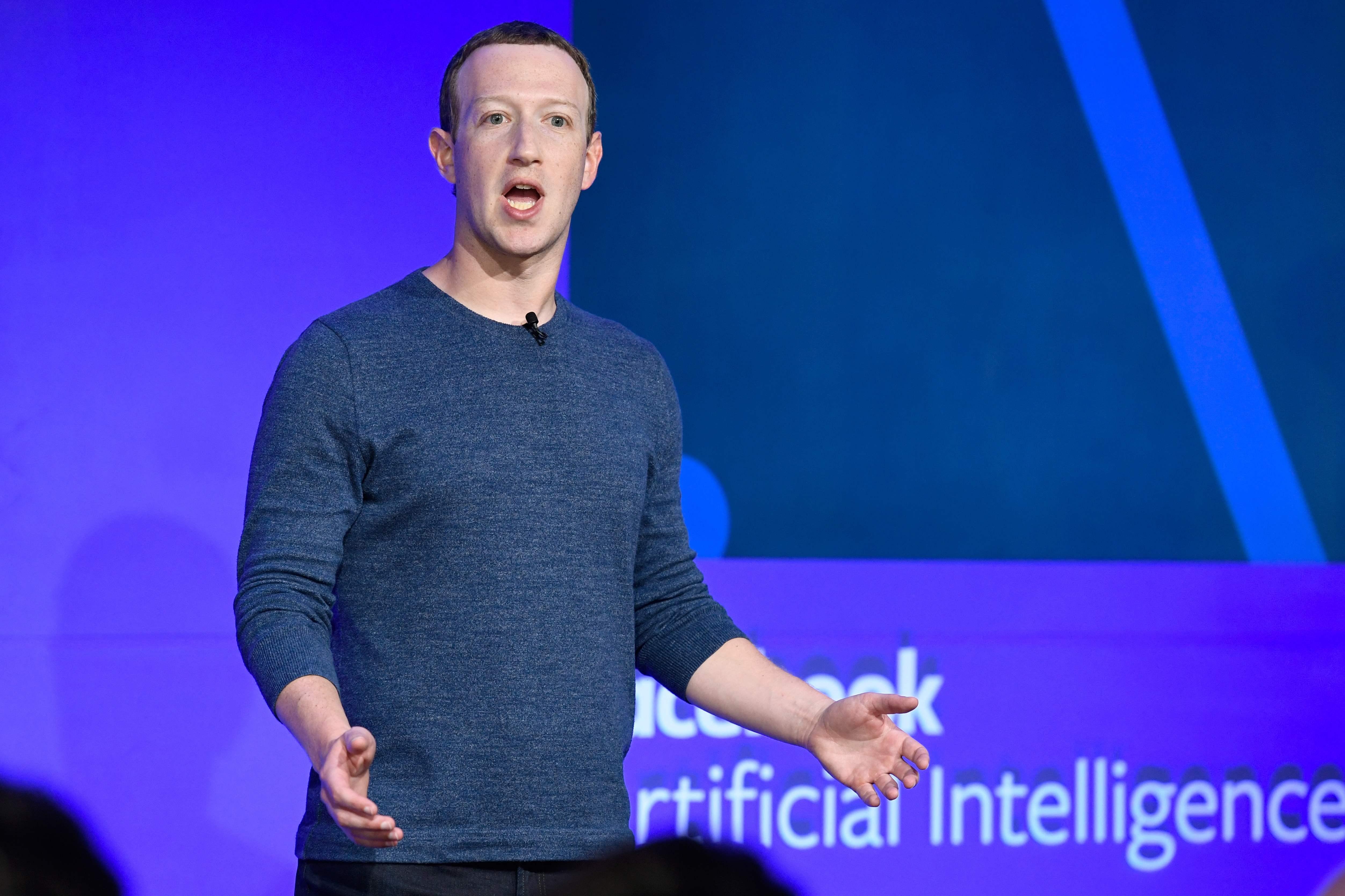 Mark Zuckerberg'in sosyal ağ devi Haziran ayında Terazi için planlarını açıkladı (stok)