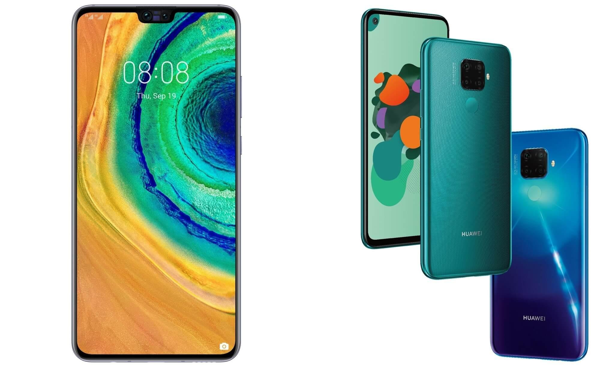 Huawei Mate 30 ve Mate 30 Lite