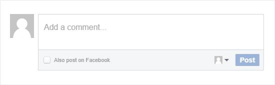Facebook  yorum formu